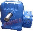 Double Reduction Worm Gearbox, Worm Speed Reducers