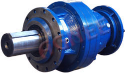 Flange Mounted Planetary Gearbox, Input Hollow Shaft