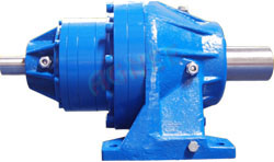 Input Solid Shaft, Foot Mounted Planetary Gear box