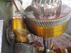 Helical Gear Cutting