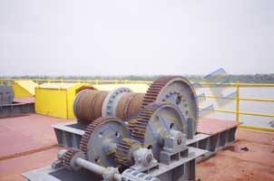 100 Ton Capacity Hoist, Prakasha Barrage Project