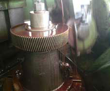 Profile grinding of Gear tooth flank for Helical Gear