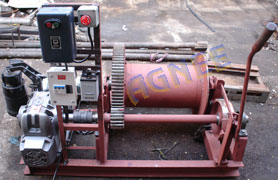 Hydro Power product - Winches