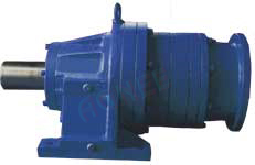 Input Hollow Shaft Foot Mounted Type Planetary Gearbox